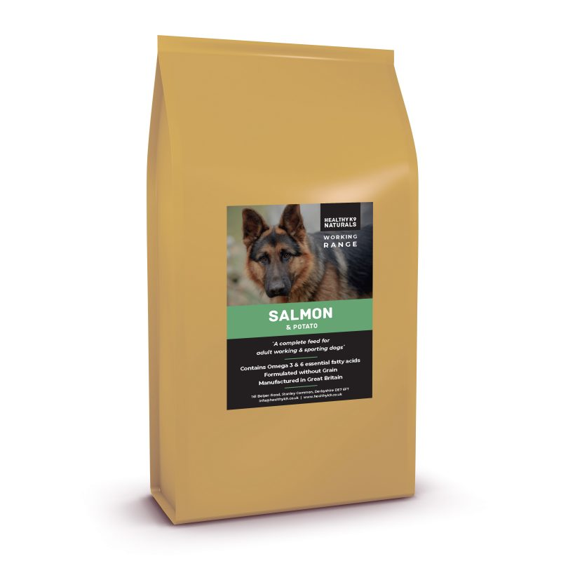Wheat Free Kibble For Working Dogs